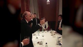 Brindis de Fernandez Díaz: ¡Por el Rey! ¡Por España!