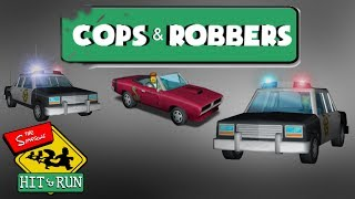 The Simpsons Hit & Run ONLINE - COPS & ROBBERS