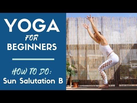 How to do Sun Salutation B, or Surya Namaskar B | Step-by-step Beginner YOGA