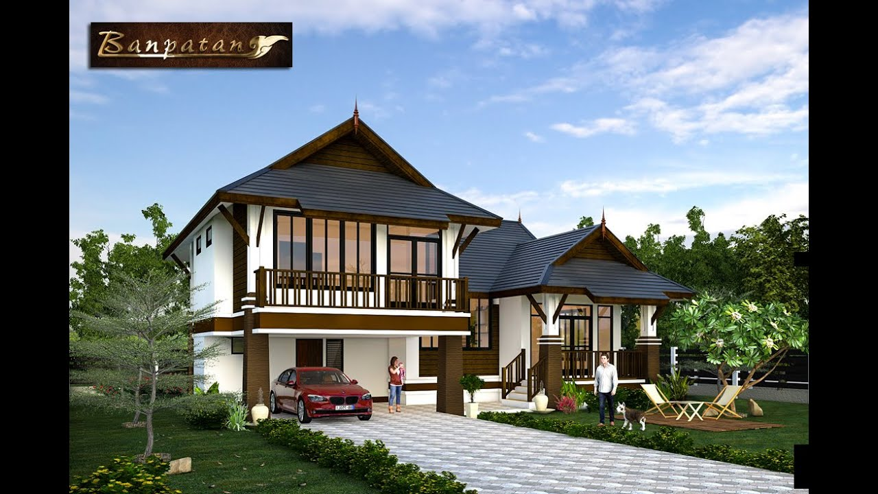 Thai House Architect Bp27s Youtube