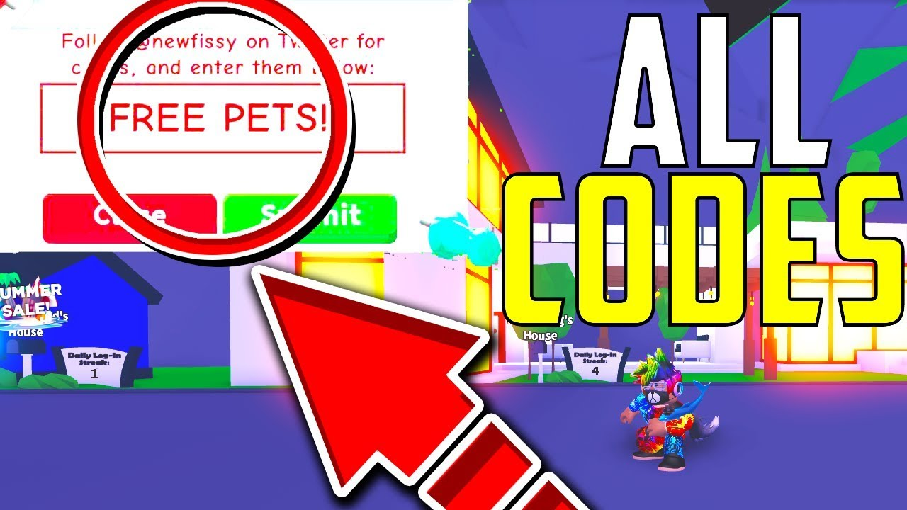 *NEW* ALL ADOPT ME CODES 2019 - Money Tree Update/ Roblox