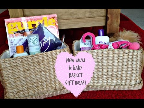 NEW MUM & BABY BASKET GIFT IDEAS! | KERRY DYER