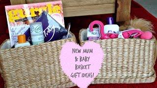 New Mum & Baby Basket Gift Ideas! | Kerry Dyer