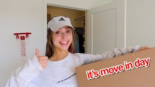 COLLEGE MOVE IN VLOG 2020