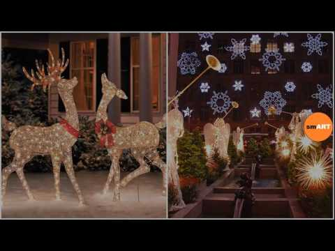 christmas house decorations outdoor christmas decoration ideas - Christmas House Decorations Outside