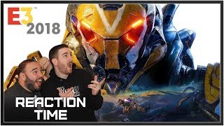 Anthem E3 2018 (EA Play) Trailer & Gameplay - Reaction Time!