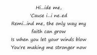 Kirk Franklin - Hide Me