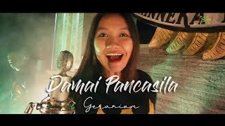 Download DAMAI PANCASILA OFFICIAL VIDEO - GERANIUM Mp3