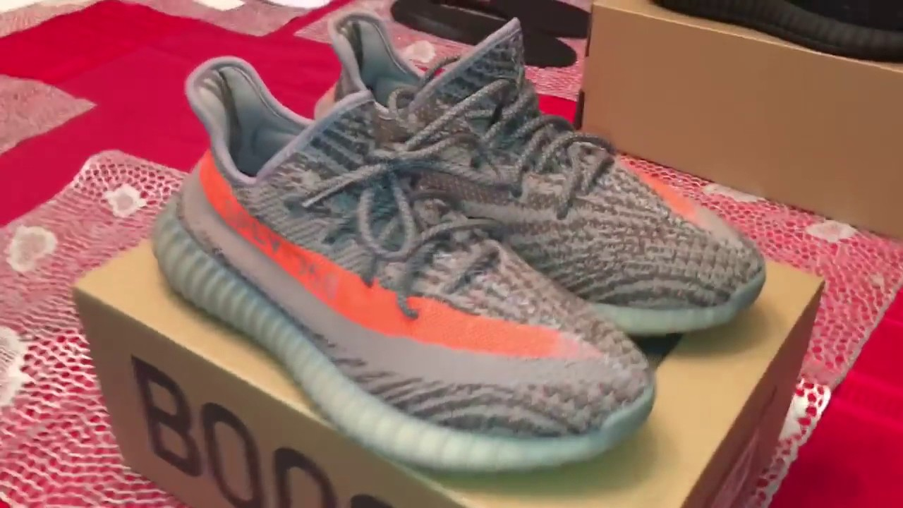 0e1a401fcf336 PERFECTKICKS ME YEEZY 350 BOOST V2 BELUGA AND RED BLACK REVIEW GREAT  REPLICAS