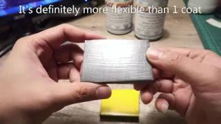 Flexible Paint for EVA foam - Tutorial of Flexi paint