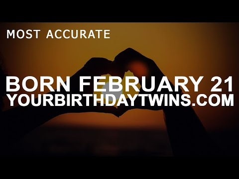 Born On February 21 | Birthday | #aboutyourbirthday | Sample