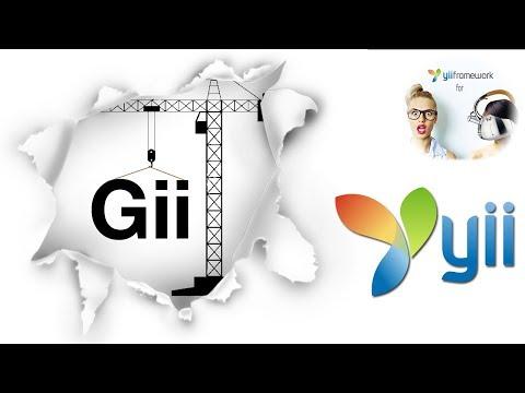 Yii2. Сайт трудоустройства за рубежом. Gii для adminLTE. Видео 3.0