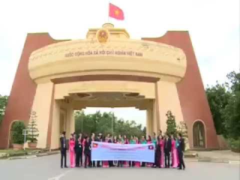 Ngân Hàng Chính Sách Lào Làm Việc Tại Quảng Trị  QRTV   281116