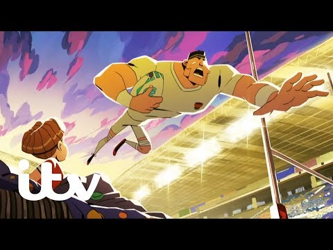 ITV's creative director Tony Pipes talks about its semi-animated Rugby World Cup campaign