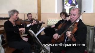 Corrib String Quartet, wedding music , brooksvideo.com YouTube Thumbnail