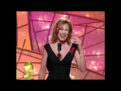 Christine Lahti Wins Best Actress TV Series Drama  Golden Globes 1998
