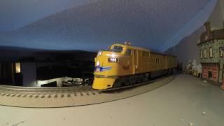 3rd Rail 3rdrail Union Pacific f7O-scale train