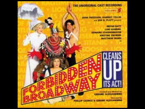 Forbidden Broadway (Cleans Up Its Act) - 12. Ann Miller-I'm Still Weird