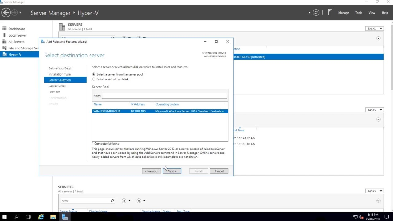 How to install Server Essentials Experience - Server 2016