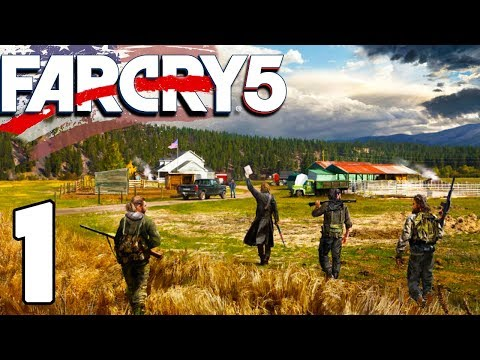 NAUGHTY JESUS FANS | Far Cry 5 Gameplay Let's Play #1