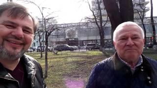 Бліц опитування ветеранів АТО на тему  Чим я пожертвую заради миру?  // Руслан Коцаба біля ВРУ