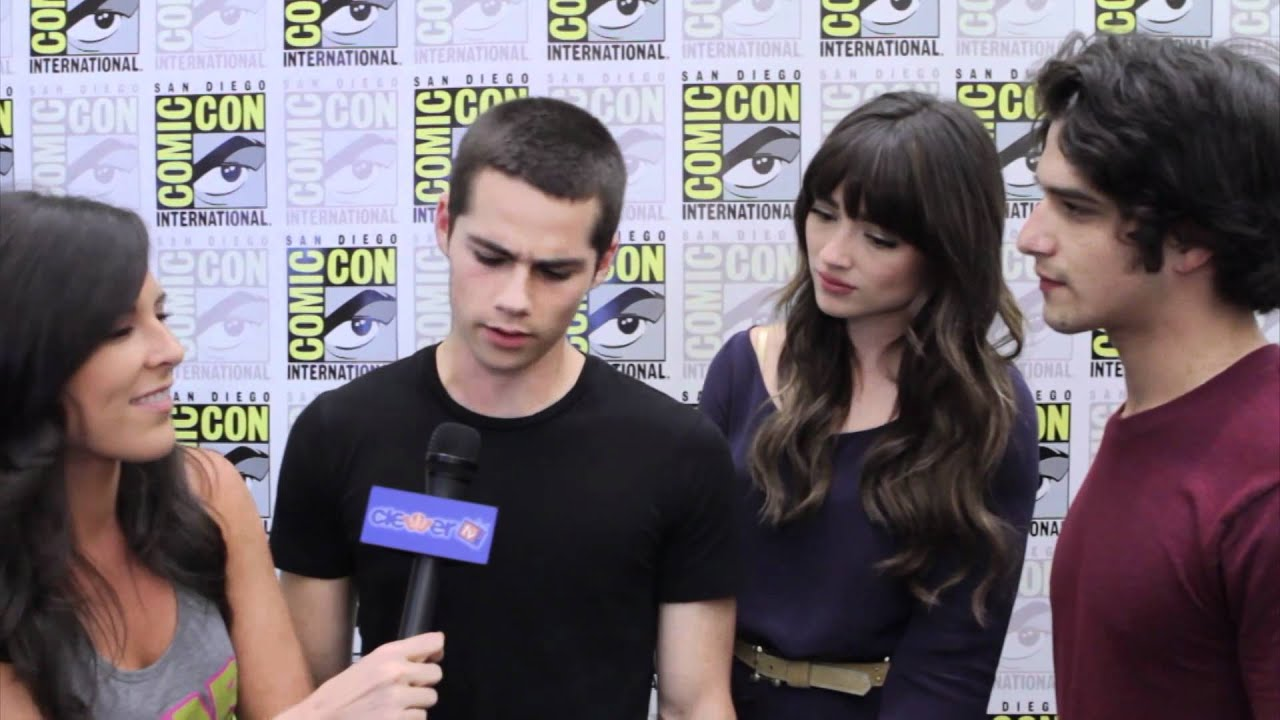 Tyler Posey, Crystal Reed, Dylan O'Brien Talk 'Teen Wolf ...