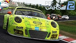 PROJECT CARS 2 - Porsche 911 GT3 R @ Nürburgring Nordschleife (24h) - Let's Play Project CARS 2