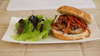 Cooking With Denise - Episode 2 - Delicious Turkey Burger Recipe
