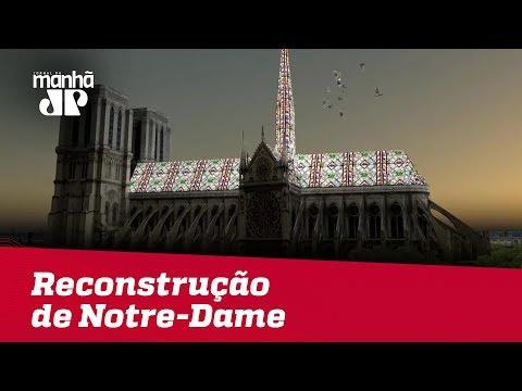 Projeto de brasileiro está na disputa para reconstrução de Notre-Dame