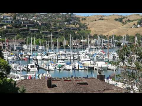 View of Tiburon from Belvedere, California