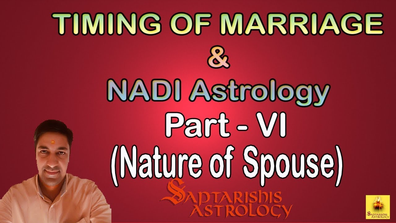 Learn Nadi Astrology | Nature of Spouse Part 6 - YouTube
