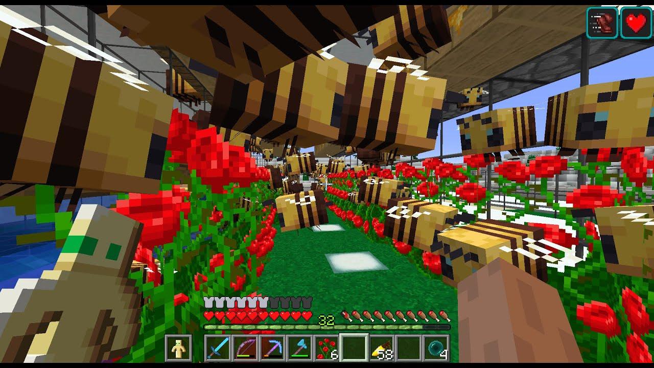 Reboot 2.0 #16: Conjunto Habitacional de Abelhas | Minecraft