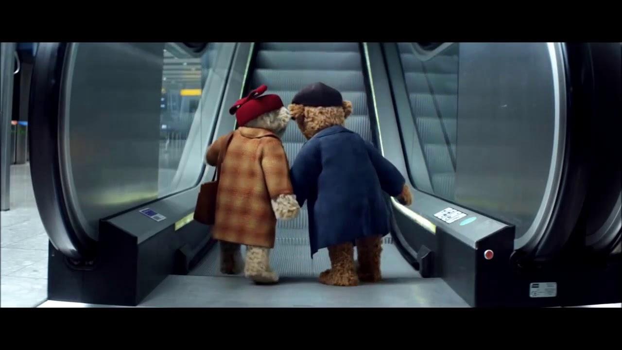Heathrow Airport Bears Christmas TV