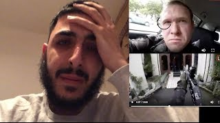 REACTING TO NEW ZEALAND SHOOTER VIDEO - CENSORED