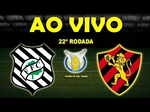 Figueirense x Sport Ao Vivo HD | Brasileirão Série B | 22ª Rodada | 15/09/19
