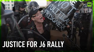 EXCLUSIVE   Justice for J6 rally kicks off in Washington DC