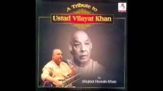 Ustad Shujaat Hussain Khan - Raga Yaman Kalyan - Gat 1 And 2 - by roothmens