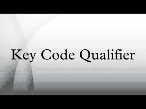 Key Code Qualifier