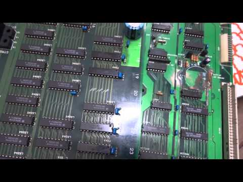 Neo Geo MVS 6 Slot Repair: Severe Trace Damage