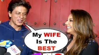 Shahrukh Khan And Gauri Khan CUTE Interview Together