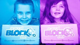 Nerd Block Jr Girls & Boys Edition March 2015 Mystery Toy Unboxing!