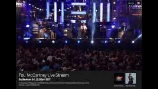 Paul McCartney Live Stream 092413