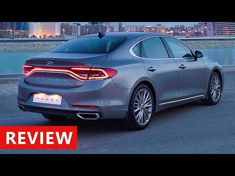 2018 Hyundai Azera Review Interior Exterior Walkaround