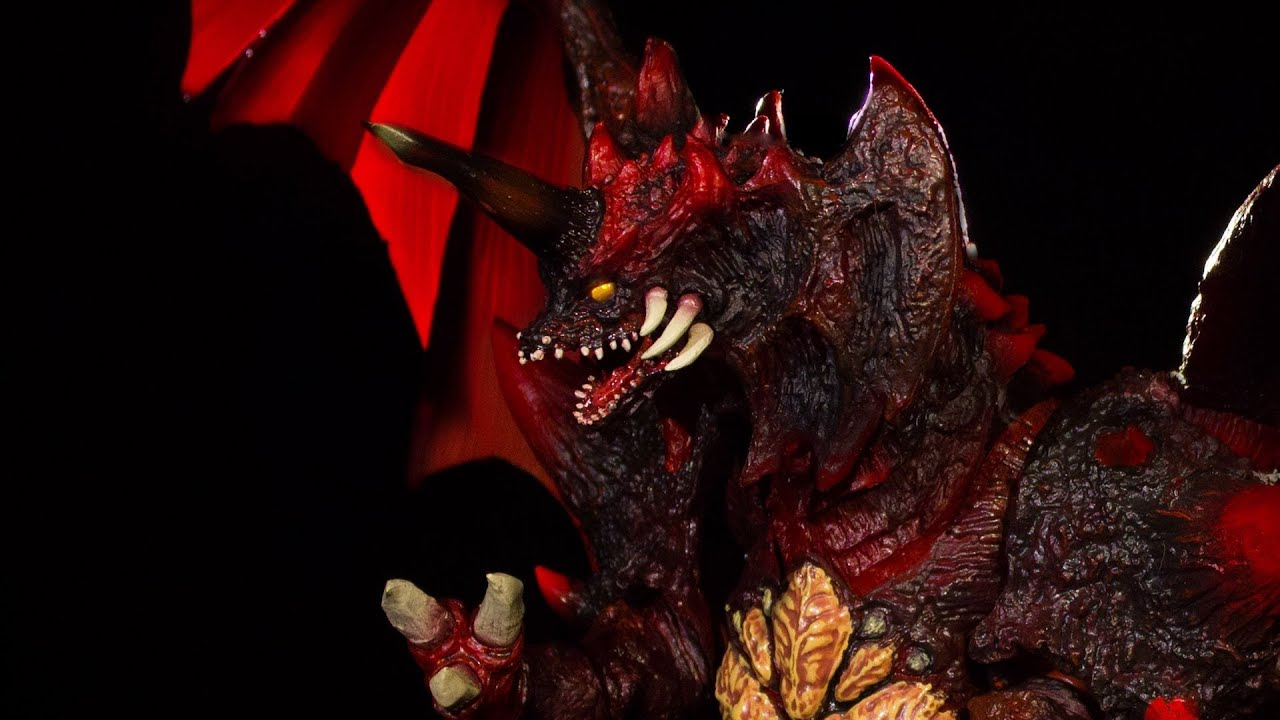 s h monsterarts  the articulation series - destoroyah