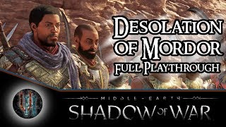 Middle-Earth: Shadow of War - Desolation of Mordor DLC | Full Playthrough + Gold Edition Giveaway