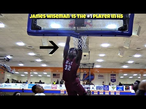 100% PROOF James Wiseman Is The #1 Player in High School