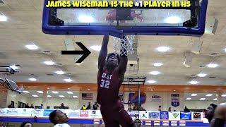 100% PROOF James Wiseman Is The #1 Player in High School