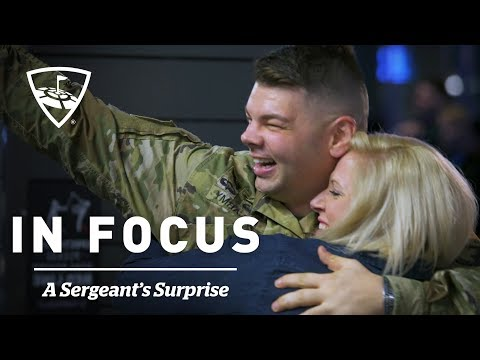 A Sergeant's Surprise | In Focus | Topgolf
