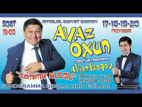 Avaz Oxun - Samimiy kulgu nomli konsert dasturi 2016