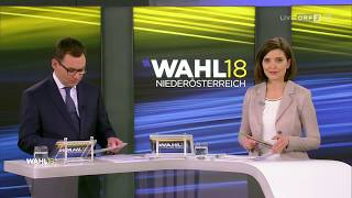 Diskussion der SpitzenkandidatInnen LTW Niederösterreich 2018 | ORF2